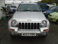 JEEP CHEROKEE 2.5 CRD Limited 5dr FULL LEATHER, LOVELY DRIVER, MOT May 2019, SIDE STEPS 2004