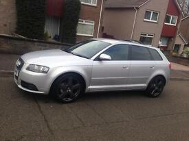 Audi A3 Sline Diesel 2.0 Low Mileage Full leather. Not Vw Golf Bmw Seat Leon