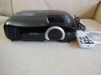 Epson EH-TW5200 Full HD 2D/3D Tri-LCD Projector. Only 1200 Hours Used. GWO
