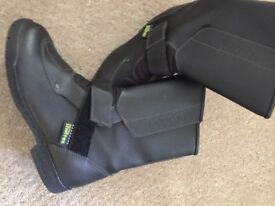 motorbike boots - ladies size 37 (4.5)