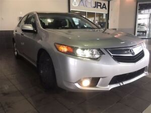 2013 Acura TSX Premium   Leather upholstery   Keyless entry   Bl