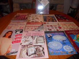 Needlework craft books