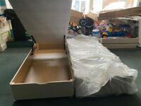 BRAND NEW SUPER KING SIZE OTTOMAN BED BASE LOTS OF STORAGE FREE DELIVERY