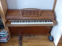 Fabulous Eavestaff Miniroyal Overstrung Piano. Full Keyboard. Compact Design. Fully Tuned / Restrung