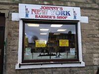 Barber's shop lease for sale