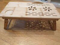Folding Wooden Laptop Desk