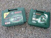 Bosch Sander & Jig Saw