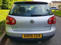 2005 vw golf mk5.mot and tax.service history.insured.