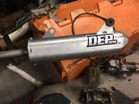 Cr 250 tail pipe