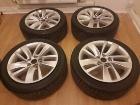 vauxhall insignia Rims and tires 18inch 5 stud
