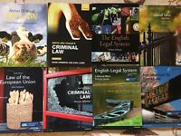 LLB Law Books (Criminal, Tort, Land, EU, Contract, Contitutional, Company, IP)