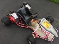 Go kart, twin engine