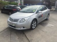 Toyota Avensis 2012 Leeds Taxi Plated