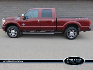 2016 Ford F-350 Platinum Package