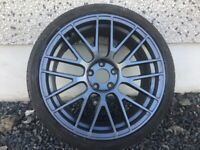 19INCH 5/112 MERCEDES AUDI VW SEAT SKODA ALLOY WHEELS WITH WIDER REARS & TYRES FIT MOST MODELS