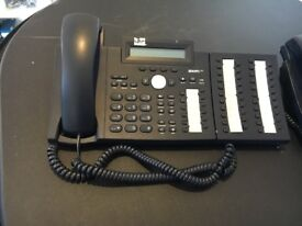 SNOM 320IP Telephones x24 and 1 Master Phone