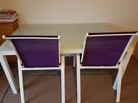 Selling this dinning table with 4x Chairs. Need it gone ASAP