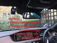 Car Dash Cam fitted Recorder camera DVR van INSTALLATION in London area