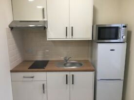 Fully Furnished Studio Flat inclusive of utilities and parking , Chesterfield Town Centre