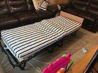 Brand new!! Jay-be folding single bed