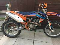 Ktm sfx450 sfx 450 2013 motocross bike