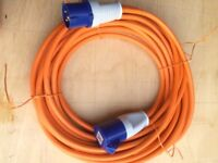 Mains hook up lead 15m VGC