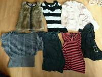 Bundle of size 8 clothing