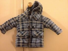 Baby boys coat age 3-6 months