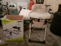 Hauck sit n relax high chair highchair kids
