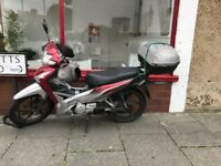 Honda wave AFS 110 2SH-C. Very good engine. New break pads, new tyre,