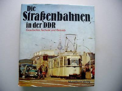 Straßenbahnen in DDR 1978 Geschichte Technik Betrieb