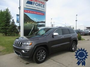 2017 Jeep Grand Cherokee Limited 5 Passenger 4X4, Leather Seats