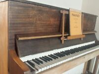 FREE lovely vintage piano with sheet music