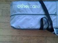 Mothercare travel cot hardly used