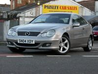 2004 REG MERCEDES C180 SE KOMP 1.8cc 3 Door COUPE.