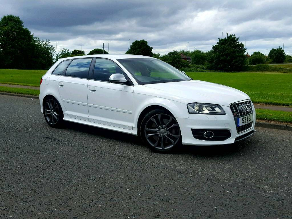 audi s3 2010 sportback facelift s tronic auto dsg quattro ibis white a3 rs3 golf r in. Black Bedroom Furniture Sets. Home Design Ideas