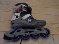 Nijdam Inline skates sizes 39 (size 6) and 44 (size 10.5)