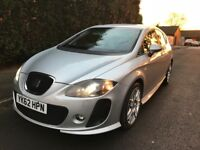 2012 62 plate Seat Leon Supercopa DSG FR+ plus CR TDI 170 silver very rare colour and high spec