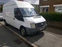 2007 Ford Transit long wheelbase high top long tax and MOT