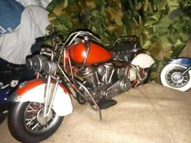 New large tin motorbike model