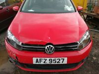 VW Golf MK6 2010 - For parts only!