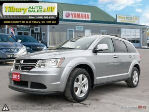 2015 Dodge Journey SE Plus. 7 PASSENGER SEATING. Touch Screen.