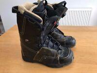 Mens Snowboard boots - Salomon F22 (UK Size 8.5)
