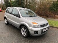 FUSION 1.6 AUTOMATIC ZETEC 5 DR 60 REG IN SILVER WITH, ONLY 40,000 MILES, FULL SERVICE HISTORY