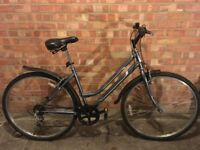 Grey Ammaco Professional Ladies Hybrid Bike