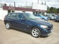 BMW X1 2.0 18d SE sDrive 5dr (blue) 2010