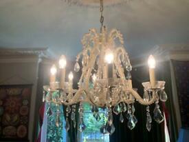 Incredible glass chandelier