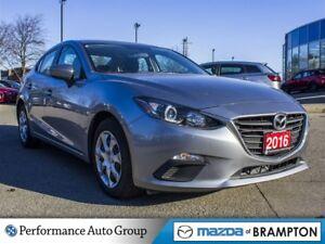 2016 Mazda MAZDA3 GX. CAMERA. BLUETOOTH. KEYLESS. BUCKETS