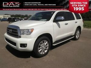 2012 Toyota Sequoia Platinum 5.7L V8 NAVI/DVD/SUNROOF