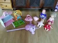 Free big bundle of girls toys fisher price dolls Elc etc